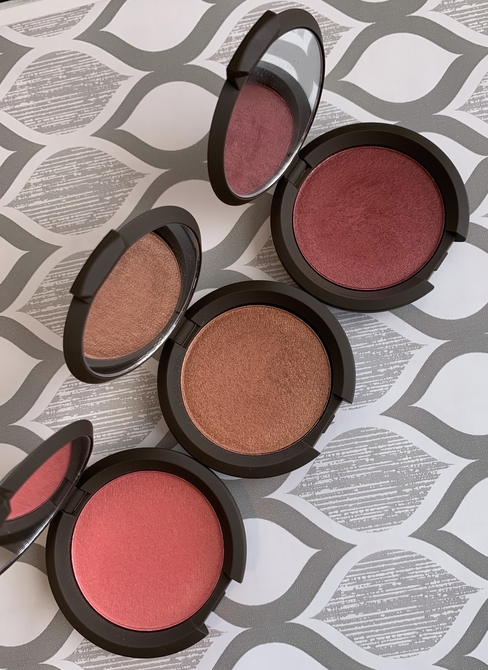 Becca Luminous Blush (snapdragon, blushed copper, dahlia)
