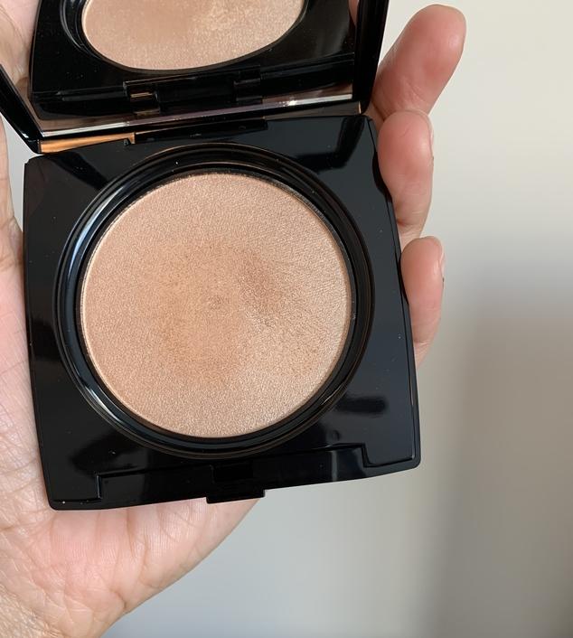 Lancome Dual Finish Highlighter Sparkling Peche Dark Skin