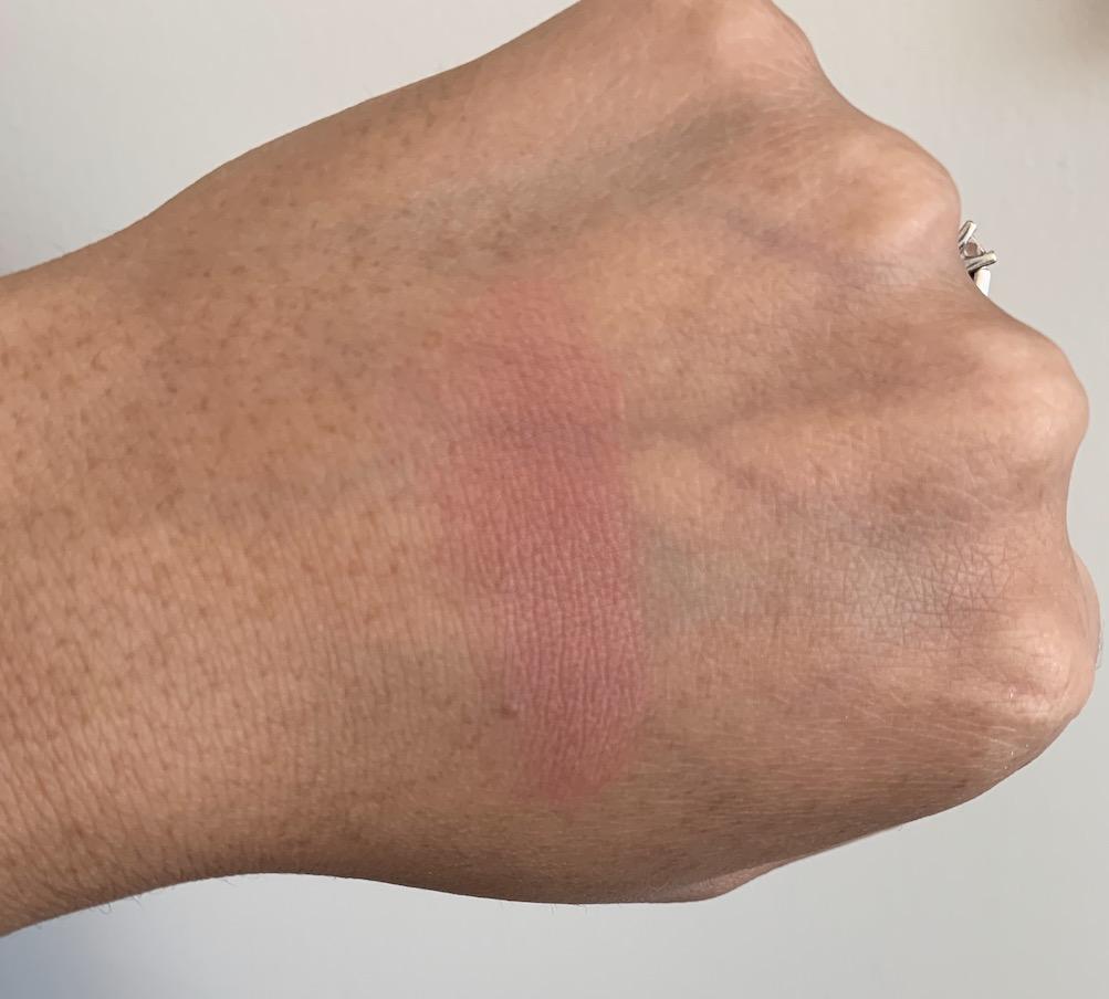 e.l.f primer infused blush always rosy swatch on medium dark skin Top 3 Drugstore Blushes under $10