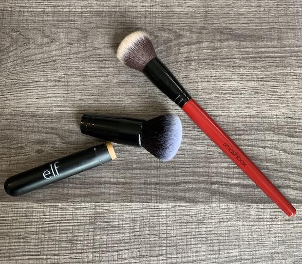 elf ultimate blending brush vs smashbox blurring foundation brush, dupe, alternative