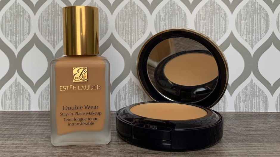 Estee Lauder Double Wear Foundation 5W1 Bronze 5W1.5 Cinnamon 5W2 Rich Caramel Review and Swatches