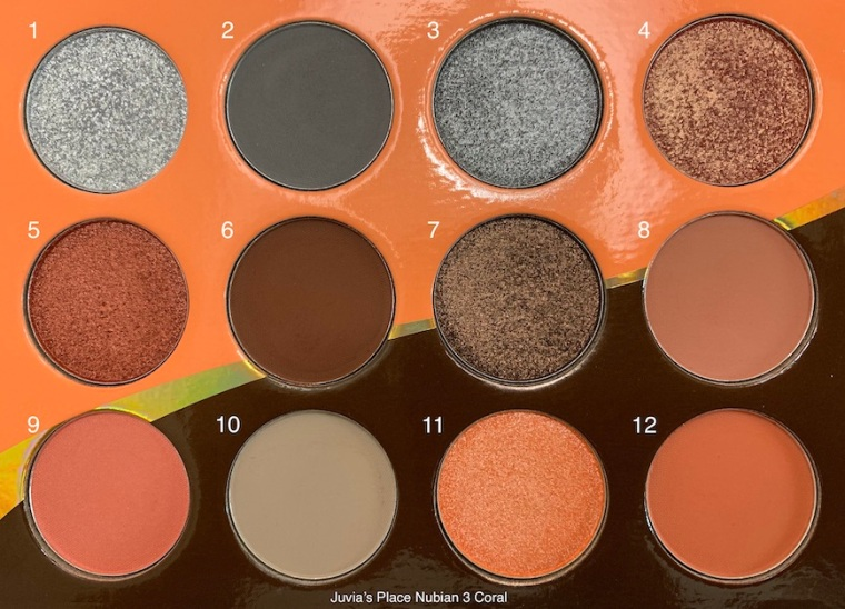 Juvia's Place The Nubian 3 Coral Palette