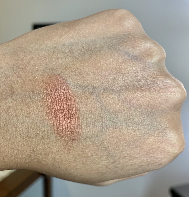 L'oreal Age Perfect Radiant Satin Blush 425 Amber Swatch