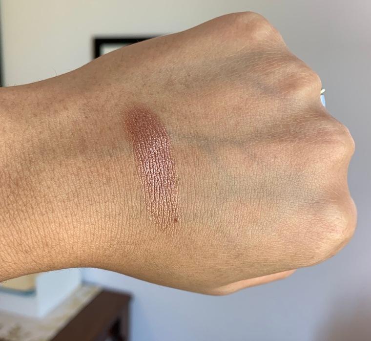 Mac bronzer collection foiled shadow sand tropez swatch medium dark skin