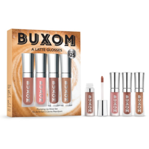 Buxom A Latte Glosses Plumping Lip Gloss Set