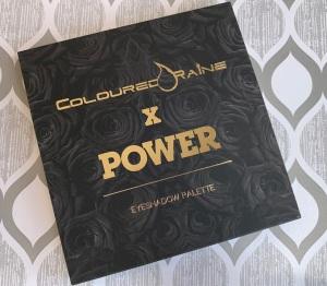 Coloured Raine x Power Collection Eyeshadow Palette