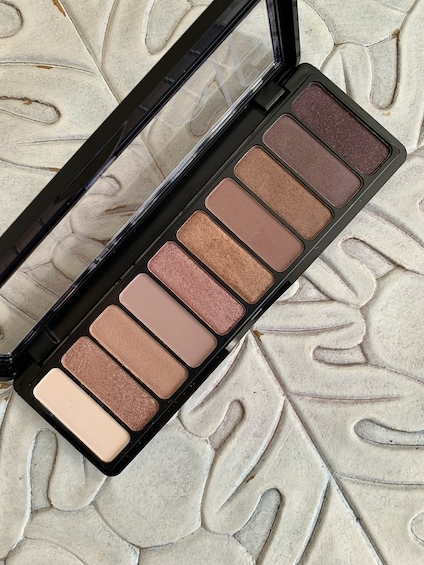 e.l.f Nude Rose Gold Eyeshadow Palette Swatches