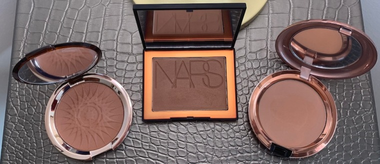 Estee Lauder Hot Spell Bronzer NARS Punta Cana Mac Totally Taupeless Bronzing Powder