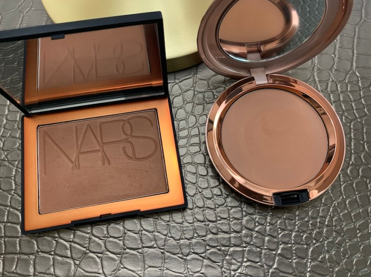 NARS Punta Cana and Mac Totally Taupeless Bronzing Powder