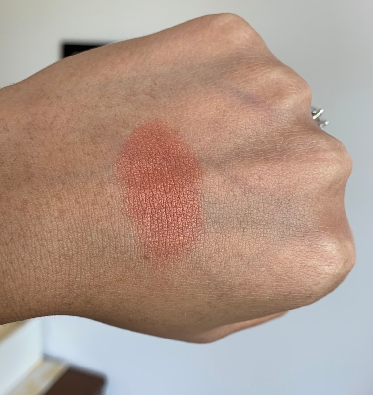 Milani Rose Powder Blush in Spiced Rose Swatch