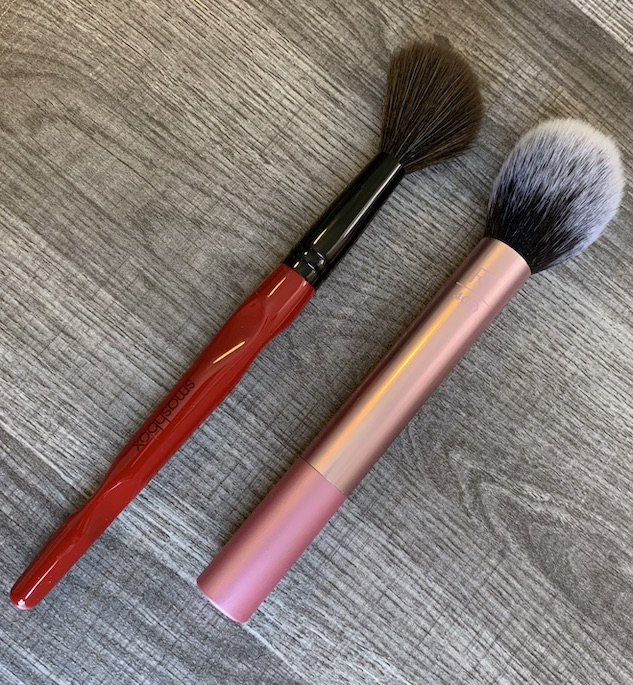 Smashbox Buildable Cheek Brush and Real Techniques Blush Brush