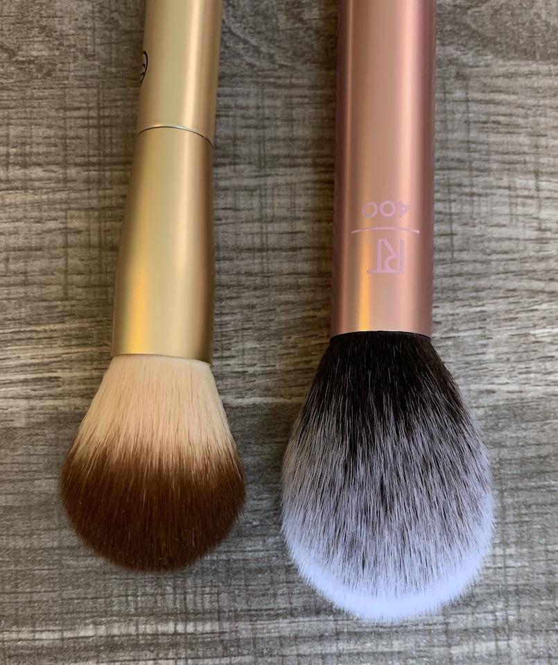 Sonia Kashuk Blush Brush and Real Techniques Blush Brush