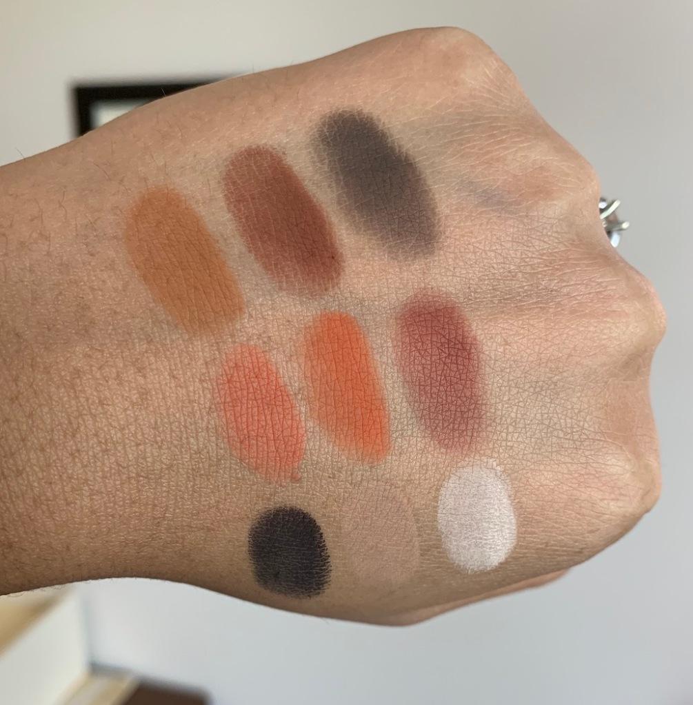 Juvia's Place The Warrior II (2) Eyeshadow Palette dark skin woc swatches