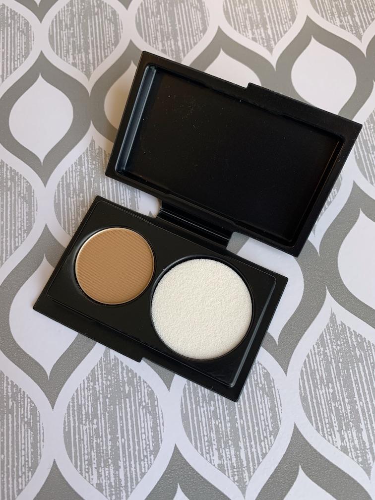 MAC Studio Fix Powder Plus Foundation in NC50 Sample swatches medium dark skin