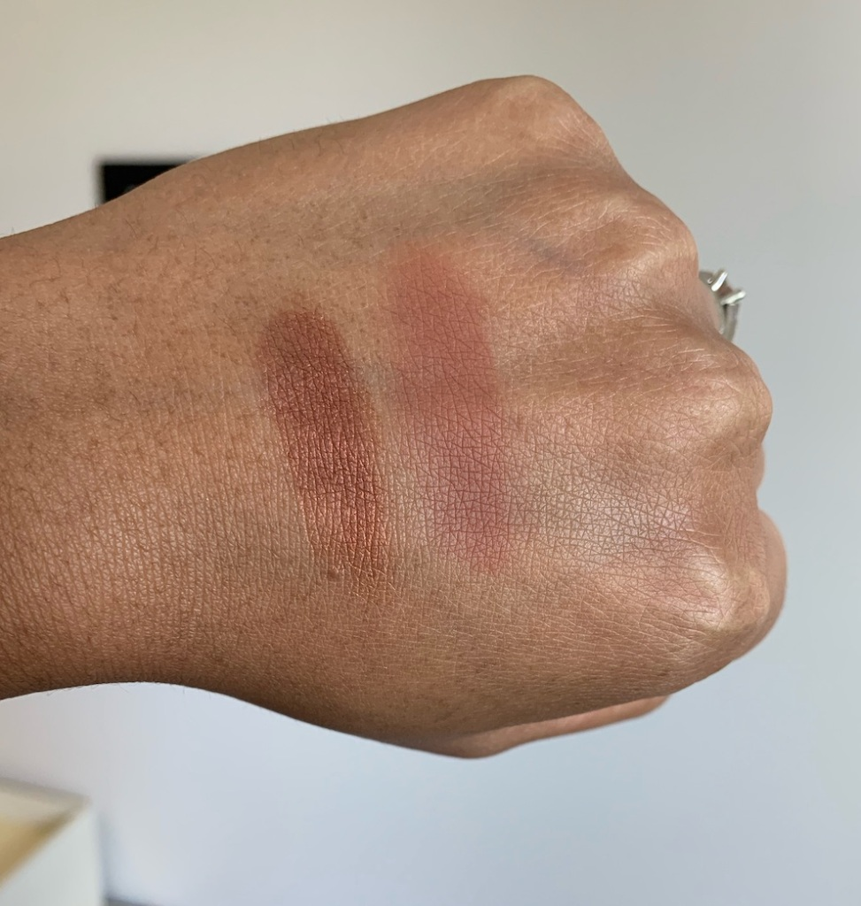 NARS Guayaquil and Noumea Eyeshadow swatches