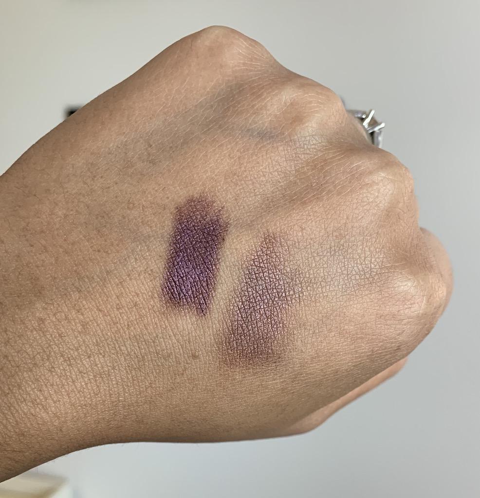 Covergirl trunaked queenship cream shadow stick 960 unruly swatch on medium dark skin