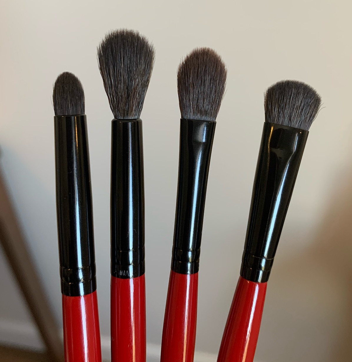 Smashbox Eyeshadow Brushes Review (Smoky Shadow, Shadow Blending, Contour Shadow, and Full Coverage Shadow)