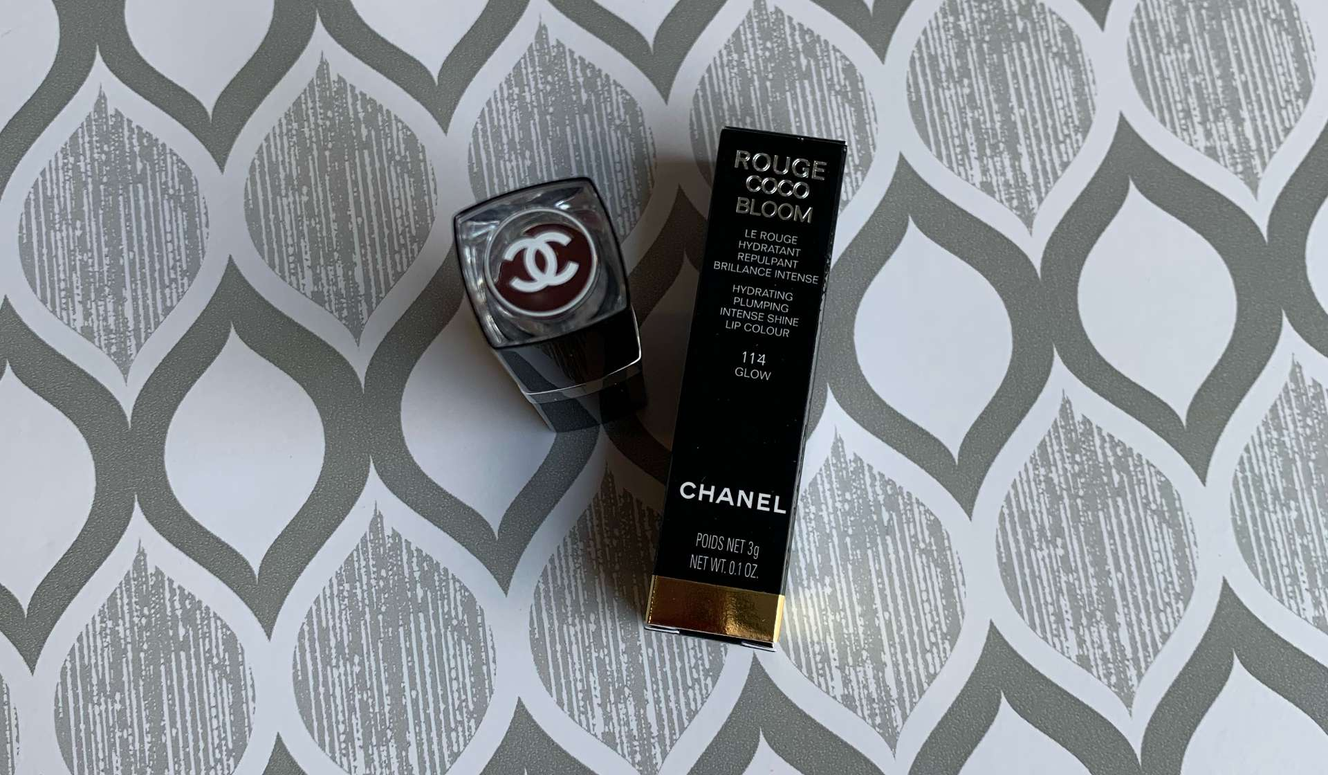 Chanel Rouge Coco Bloom 114 Glow Swatch