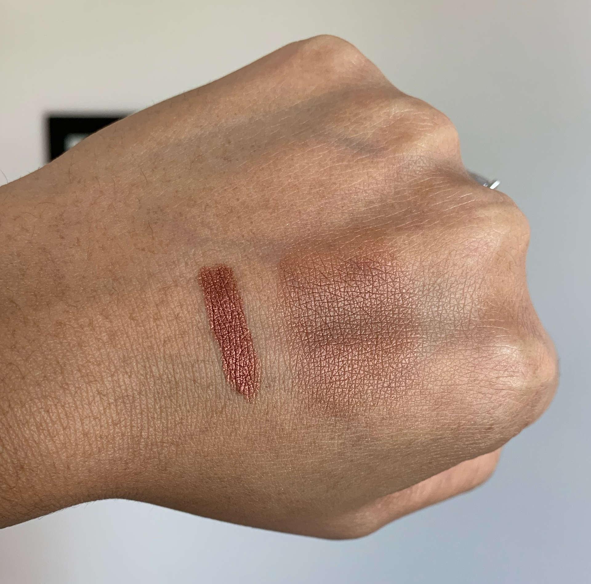 Laura Mercier RoseGlow Forbidden Rose Caviar Stick Eye Color/Eyeshadow Medium Dark Skin Swatch