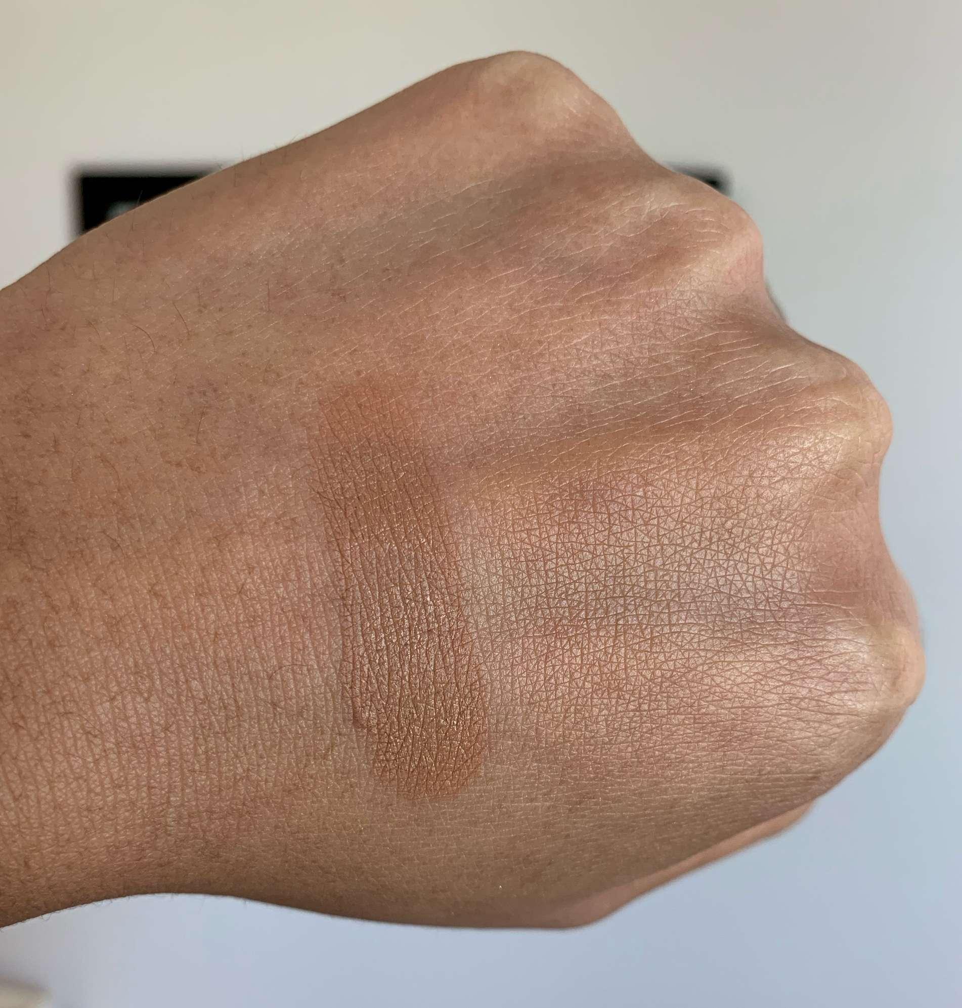 Lancome Teint Idole Ultra Wear Foundation Stick 450 Suede Neutral Swatch Medium Dark Skin