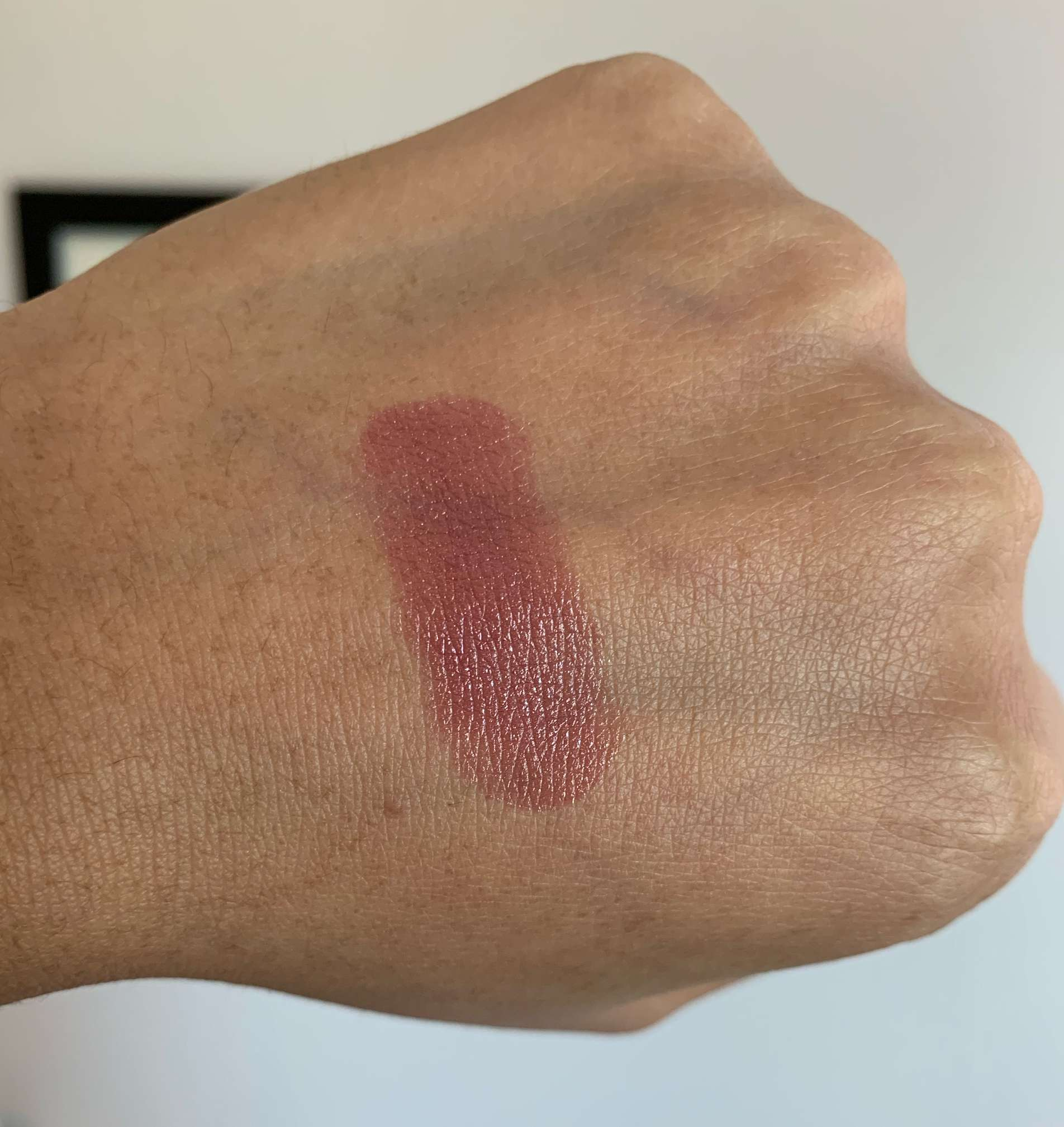 Chanel Rouge Coco Ultra Hydrating Lipstick 436 Maggy Swatch on Medium Dark Skin