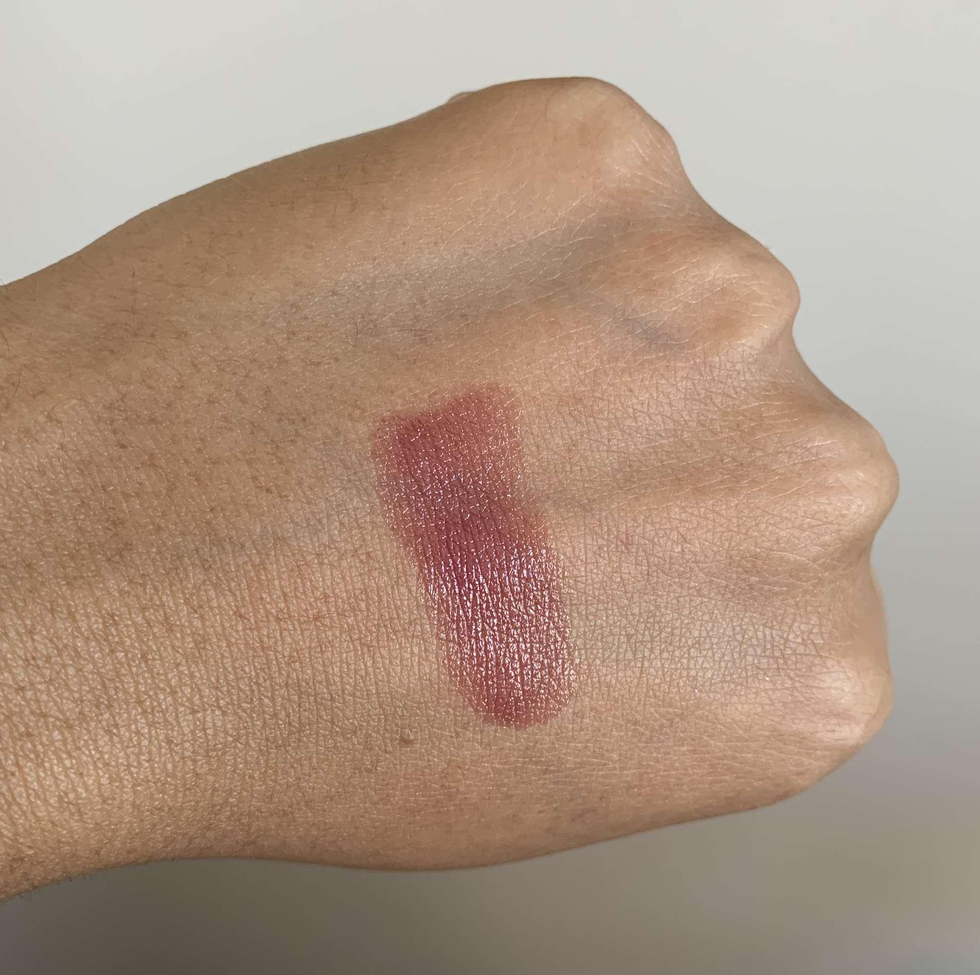 Chanel Rouge Coco Ultra Hydrating Lipstick 438 Suzanne Swatch on Medium Dark Skin