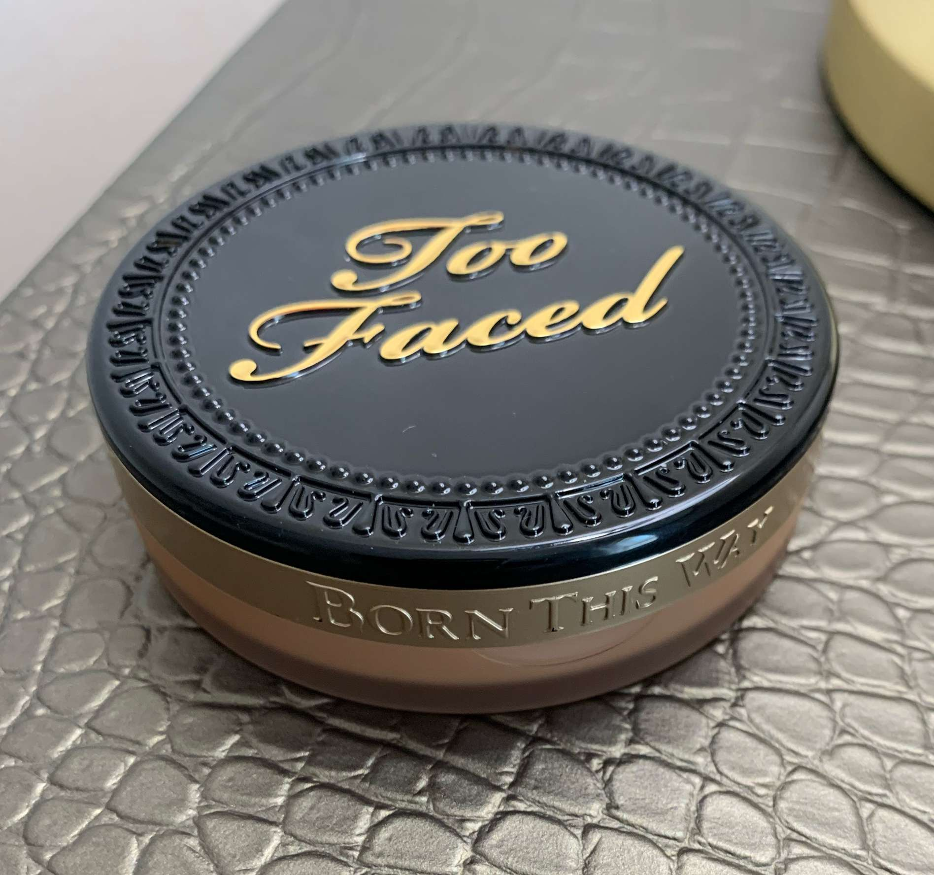 Too Faced Born This Way Multi-Use Complexion Powder in Butterscotch